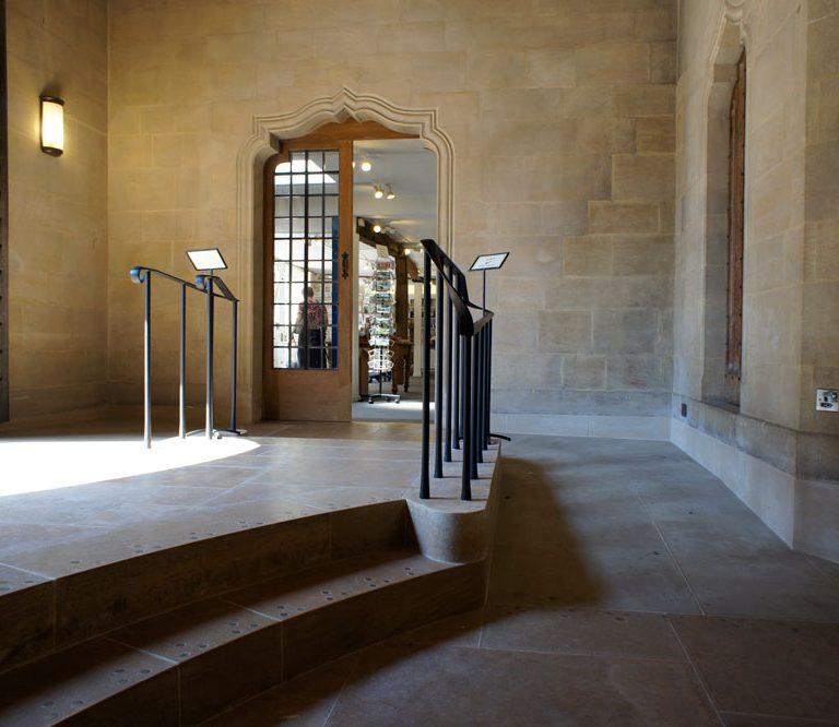 St Edmundsbury Cathedral access improvements