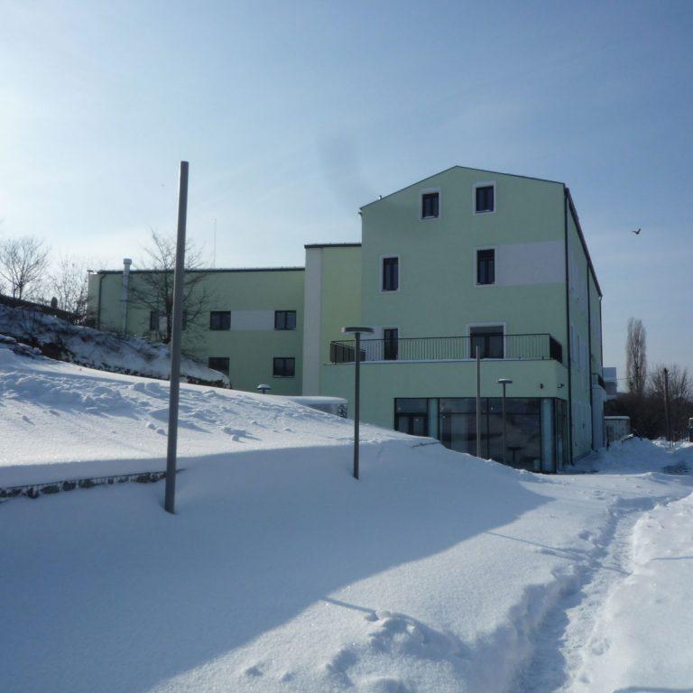 Plumbuita Hospice in Romania, exterior