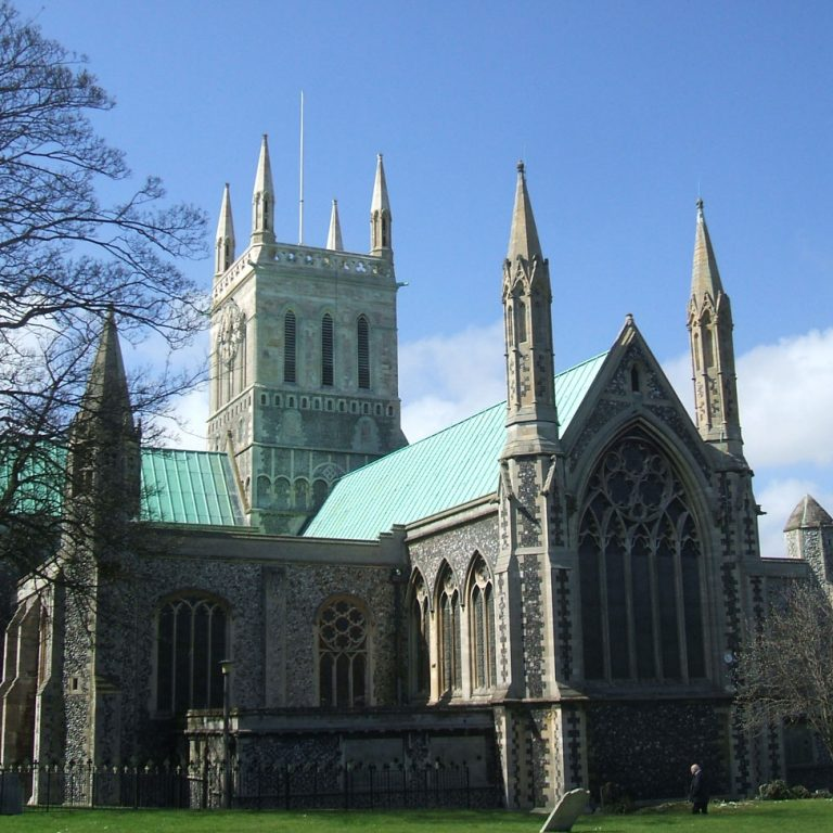 Medieval Church in Great Yarmouth