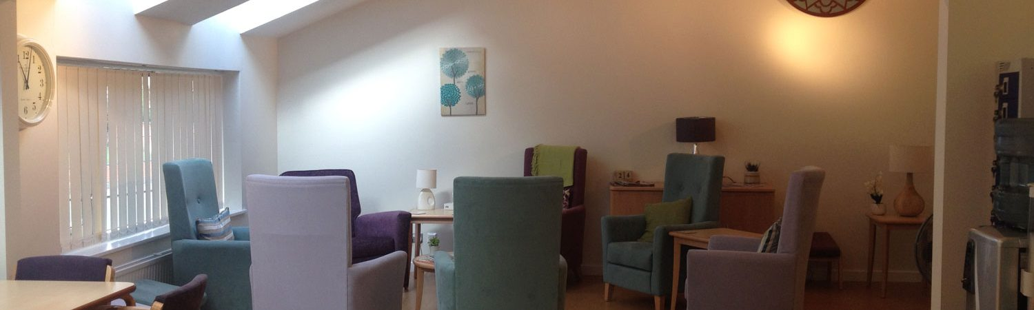 St Nicholas Hospice Outreach Centre seating area