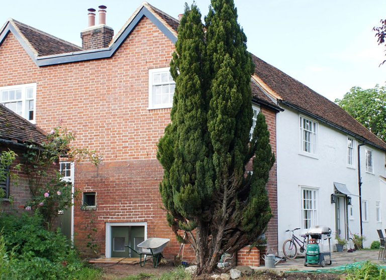 Extension to Grade 2* listed home - exterior
