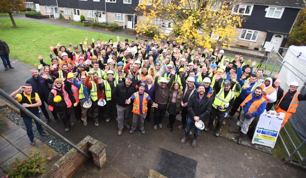 DIY SOS: The Big Build Mildenhall
