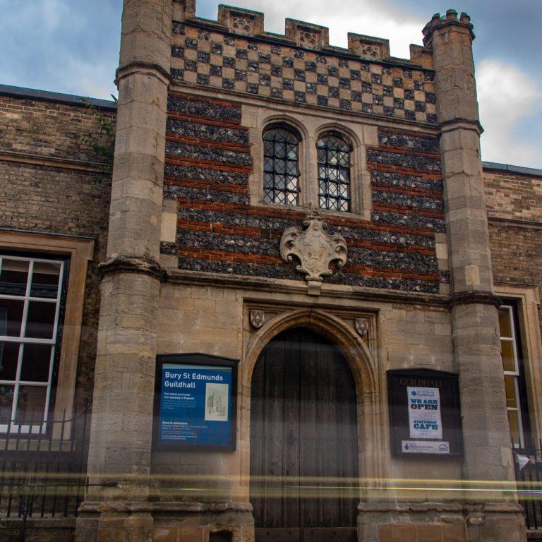 Bury St Edmunds Guildhall front exterior