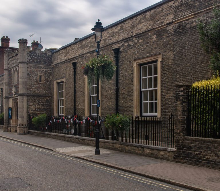 Bury St.Edmunds Guildhall Exterior