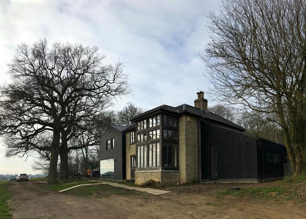 Wood Cottage extension exterior