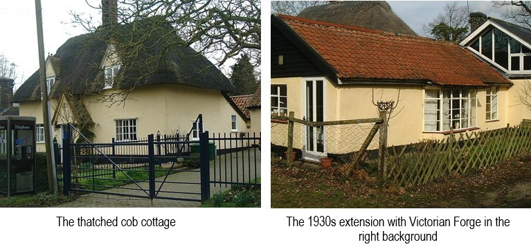 Thatched cob cottage