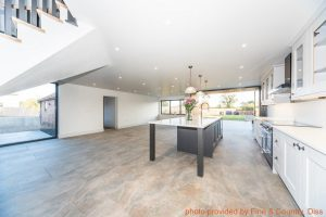 Home extension - interior