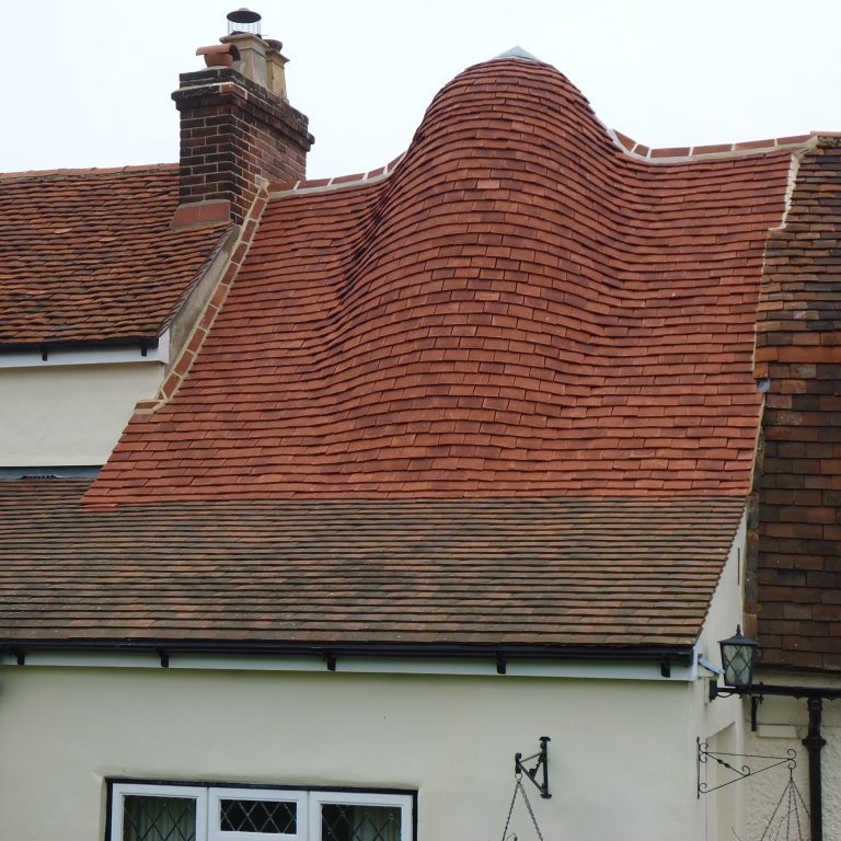 Roof repairs on a Grade II listed house