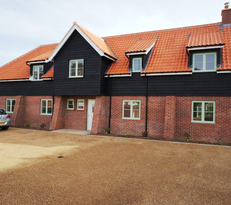 Eco housing development Suffolk
