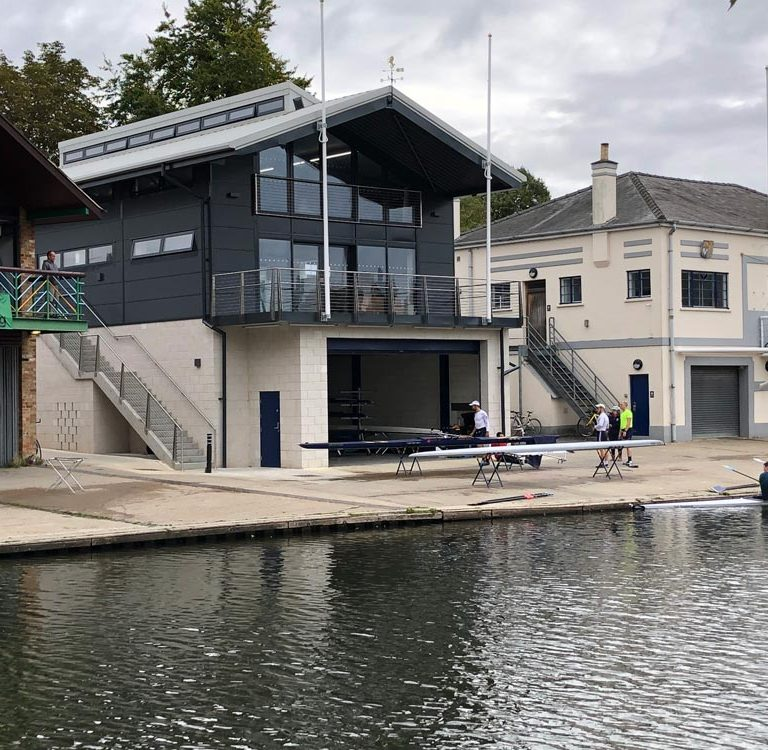 New Cambridge City Rowing Club boathouse