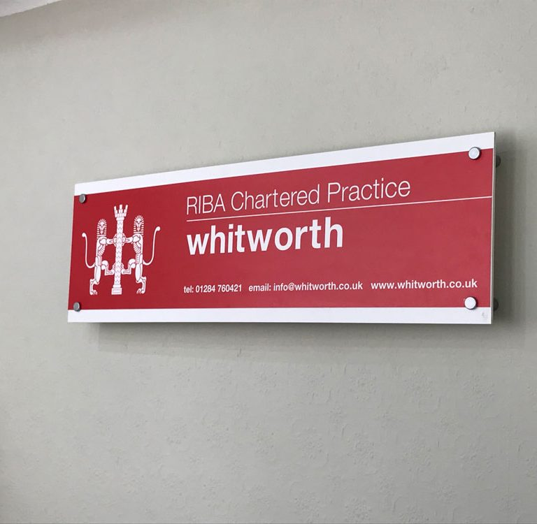 whitworth name board