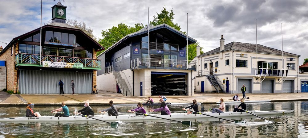 City of Cambridge Rowing club frontage